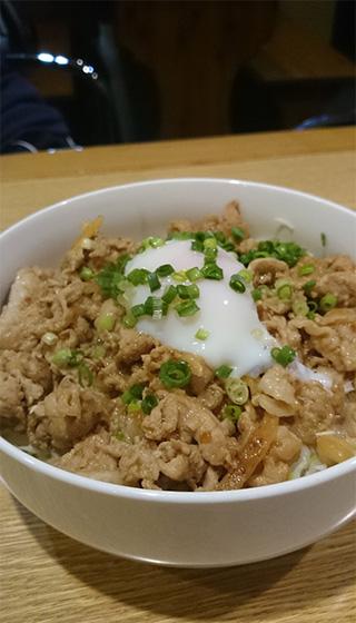 373飯「豚肉の生姜焼き丼」