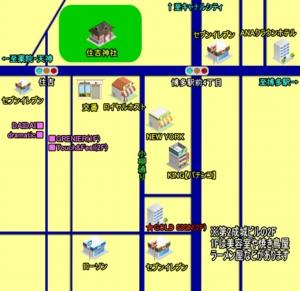 お店へのアクセス地図