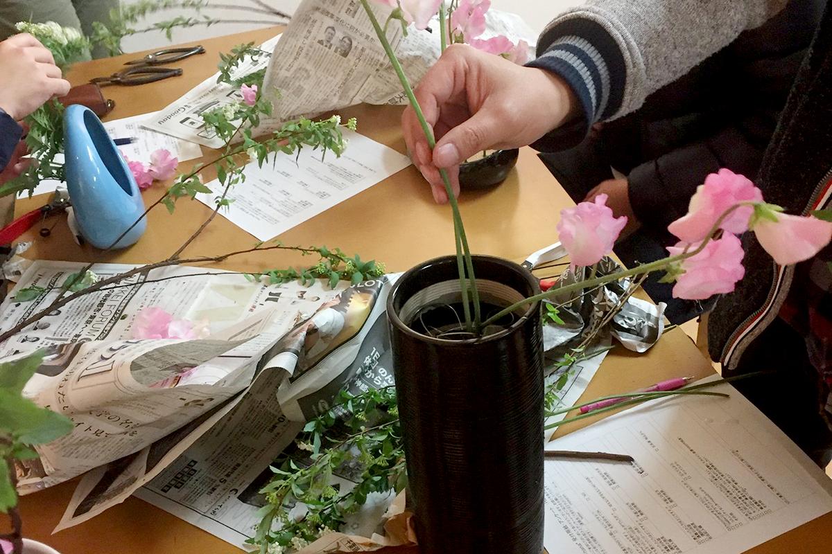 SIHTA生花教室の様子