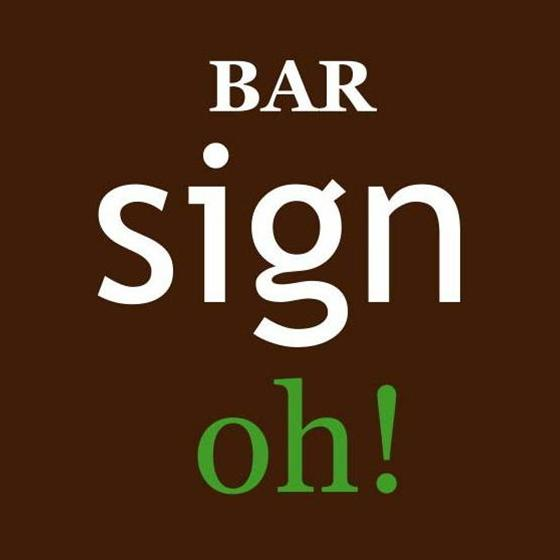 sign oh!